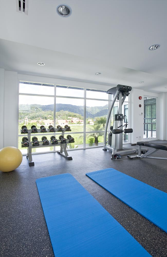 Professional fitness center and gym cleaning services in Denver.