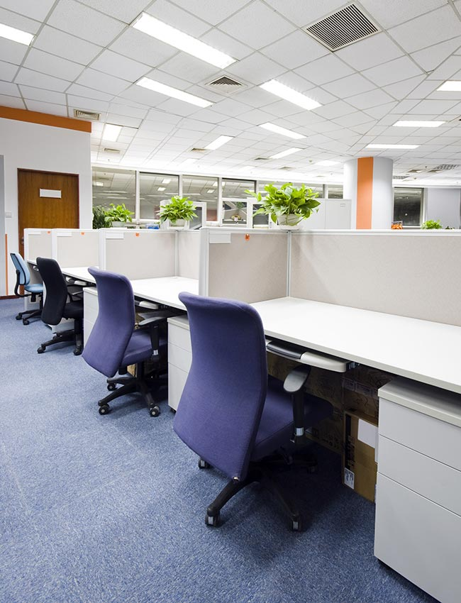 Professional office cleaning services in Denver.